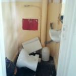 Ja, die Toiletten sind sanierungsbedürftig