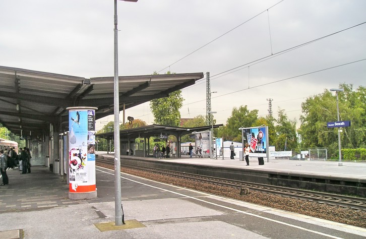 RRX-Halt in Düsseldorf-Benrath: Ja, das lohnt sich!
