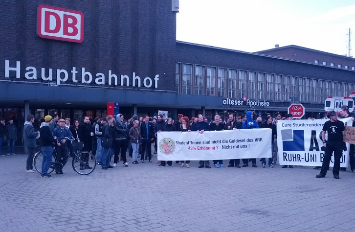 Minister Groschek schweigt zum Semesterticket
