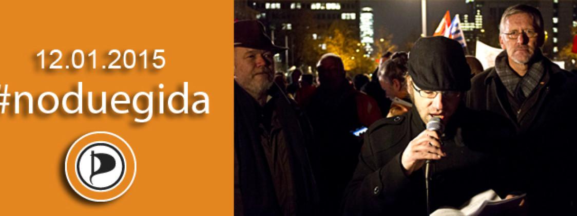 Wir sind alle NRW! #NoDügida Demo vom 08.12.2014 in Düsseldorf