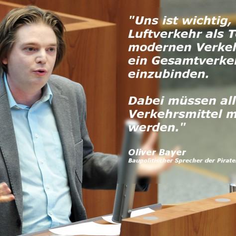 Rede: NRW braucht ein Landesluftverkehrskonzept!