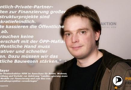 Öffentlich-Private-Partnerschaften (ÖPP): Viele Worte, wenige Argumente, noch weniger Sinn!