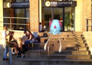 Geschäftsstelle der Piratenpartei im Alten Hafen Düsseldorf