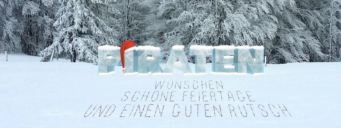 Habt eine schöne Zeit – zu Weihnachten und 2017
