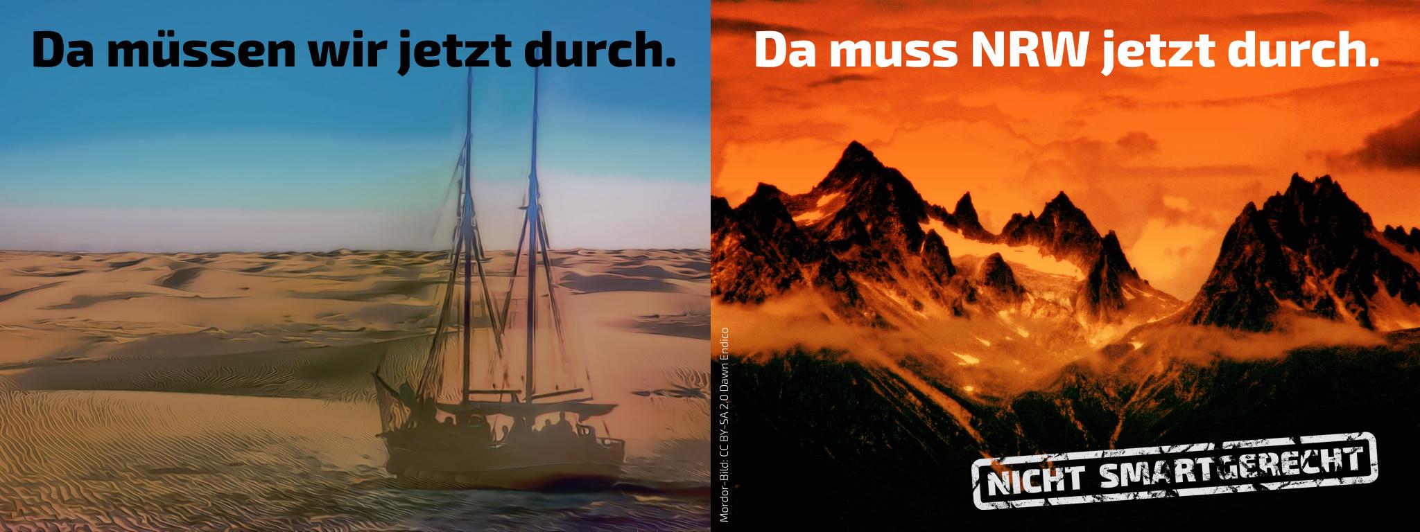 Piraten in der Wüste - NRW von der dunklen Seite der Macht eingenommen