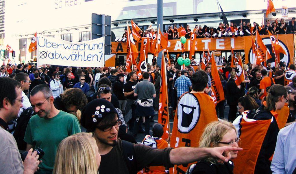 """""""Freiheit statt Angst"""" Demo 2009; Bild von Reinhard S."""